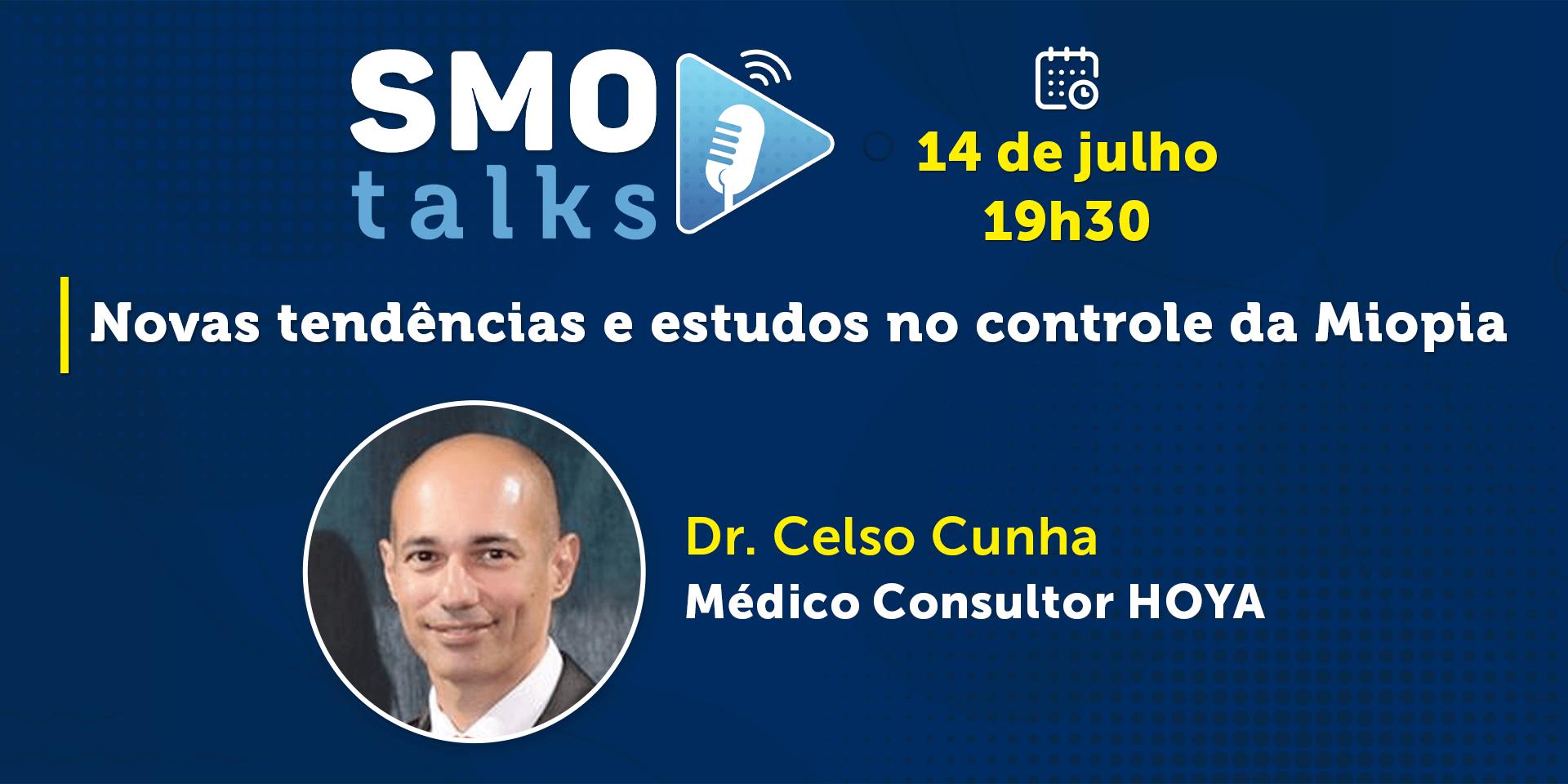 """Confira como foi mais uma edição do SMO Talks – """"Novas tendências e estudos no controle da Miopia"""""""