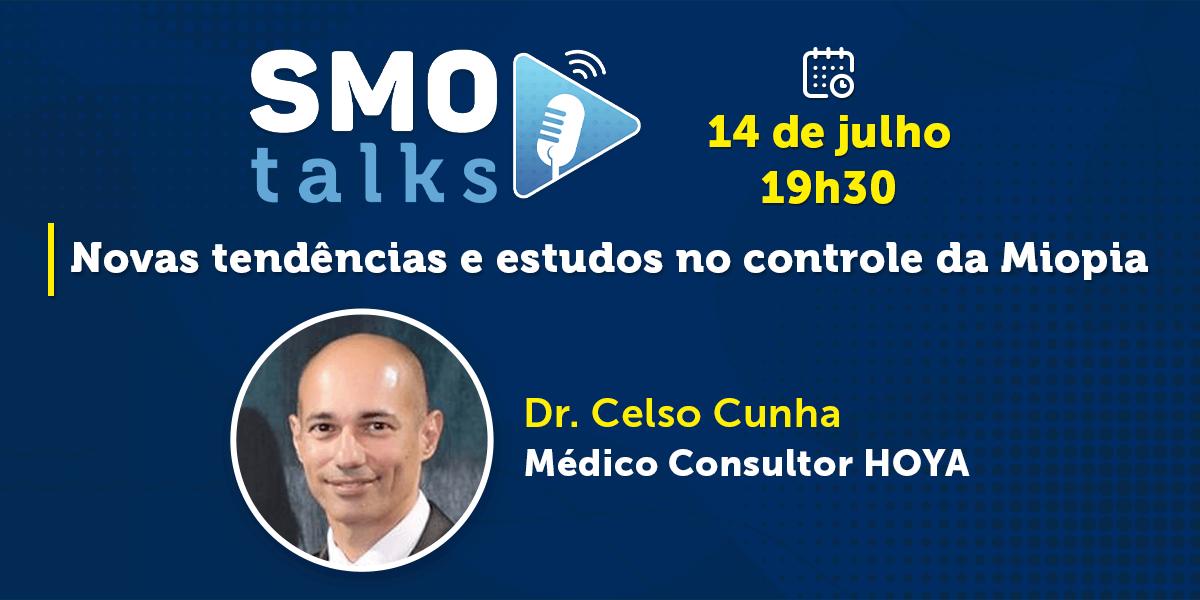 """SMO e AMMG apresentam: SMO Talks – """"Novas tendências e estudos no controle da Miopia"""""""